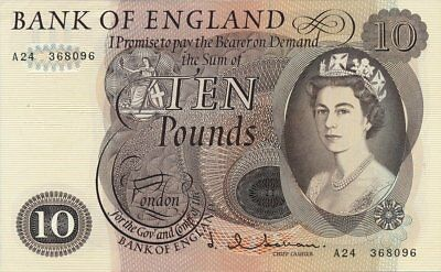 Bank of England Great Britain  10 Pounds    AU