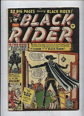 Black Rider #10   Atlas western Comic One of the 1st Marvel Origin Stories