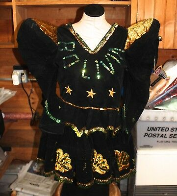 Vintage South American Carnival Carnaval Costume Bolivia Halloween
