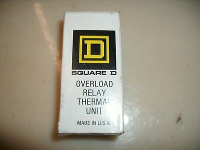 Square D B19.5 Overload Relay Heater Thermal Unit