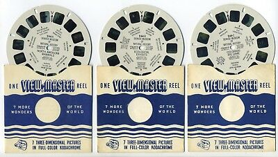 Denver Museum of Natural History 1956 View-Master Single Reels 244-ABC
