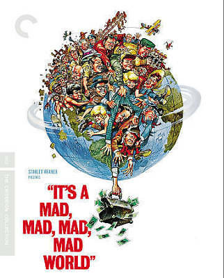 It's a Mad Mad Mad Mad World [Criterion Collection] [Blu-ray + DVD]