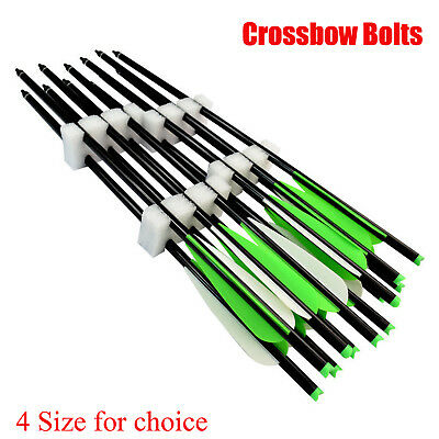 "Crossbow Bolts 16/18/20/22"" inch Aluminum Arrow Archery Outdoor Target Hunting"
