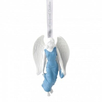 Wedgewood Figural Angel Porcelain Christmas Tree Ornament Decoration New