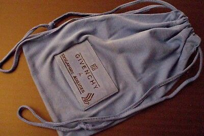 Singapore Airlines First Class Empty Pajama Drawstring Bag (Pajama not Included)
