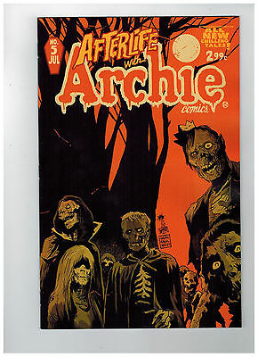 AFTERLIFE WITH ARCHIE #5  1st Printing                / 2014 Archie Publications