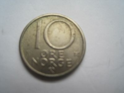 10 Öre Norwegen 1983 K