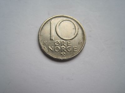 10 Öre Norwegen 1987 K