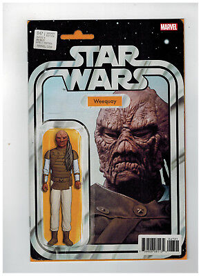 STAR WARS #47  1st Printing - Action Figure Variant Cover   / 2018 Marvel Comics