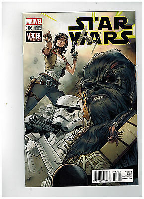 STAR WARS #13  1st Printing - Clay Mann Connecting Cover    / 2016 Marvel Comics