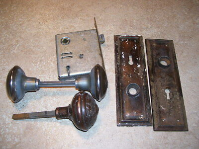 Lot of Antique Vintage House Door Knobs Hardware Some Brass
