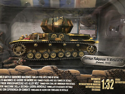 """Forces of Valor German Flakpanzer IV """"Wirbelwind"""" Poland 1944 in Box OVP"""
