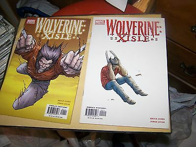 Wolverine Xisle #1 2 3 4 5 Complete Series Set Marvel Comics 2003