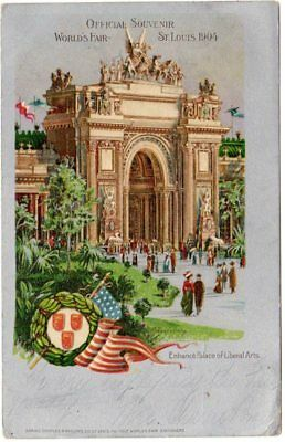1904 St. Louis World's Fair; Palace of Liberal Arts;  [pc112
