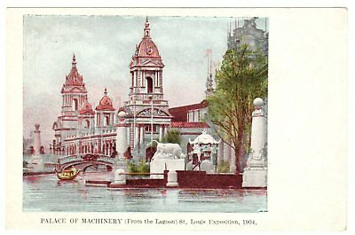 1904 St. Louis World's Fair; Palace of Machinery [pc111