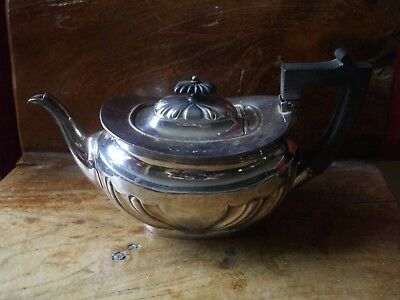 Silver plated vintage teapot