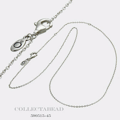 225d6b835825f AUTHENTIC PANDORA STERLING Silver Necklace Chain 17.7