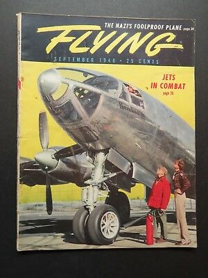 9/48 Flying- Luscombe Observer 90 Check Pilot Report / Navion / Swift 125 + More