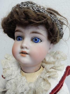 """OLD DOLL antique Germany doll 18 """" bisque head jointed BODY"""