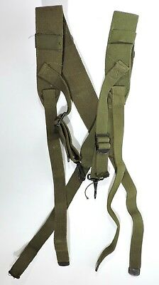 WWII Combat Suspenders Dated 1945