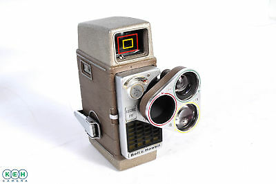 Bell & Howell Electric Eye with 3-Lens Turret 8mm Movie Camera