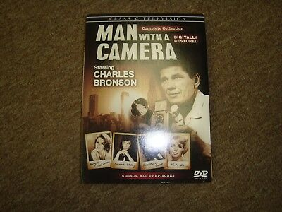 Classic Television Man With A Camera: Complete Collection  Charles Bronson
