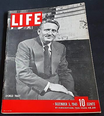 December 3, 1945 LIFE Magazine History + FREE SHIPPING Dec 12 2 1 4 5 6 7 8 9 ad