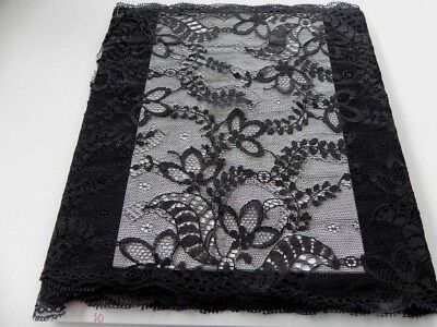 Card of  New Very Wide Lace - Black G