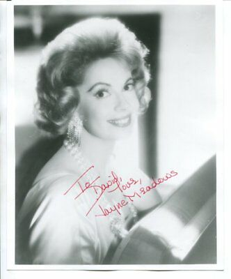 Jayne Meadows signed autograph NO RESERVE B5193