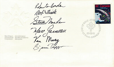 Canadians in Space FDC signed by astronauts