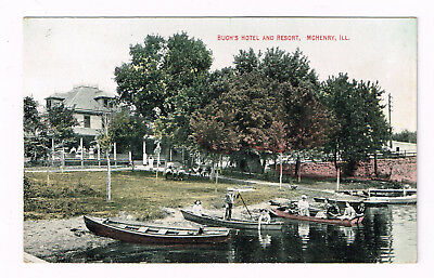 Mchenry Il Ill Illinois Buch's Hotel And Resort