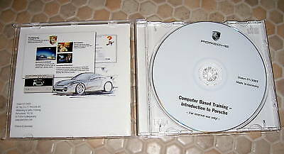 Porsche Official History Employee Introduction Cd Brochure 2004 Usa Edition