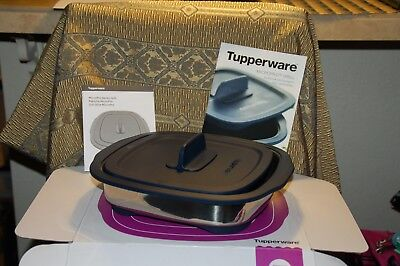 Tupperware Micro Pro Grill for microwave use AWESOME...plus bonus keychain