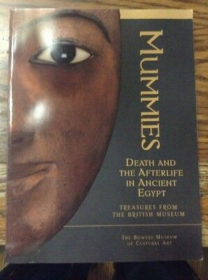 MUMMIES Death & The AFTERLIFE In ANCIENT EGYPT Treasure From BRITISH MUSEUM Book