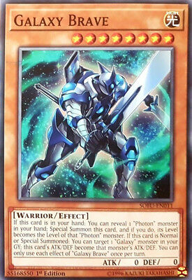Yugioh 3x Galaxy Brave - SOFU-EN011 - Common - 1st Edition