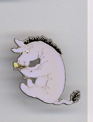 The Disney Store Classic Winnie the Pooh Eeyore with Flower Pin 1997