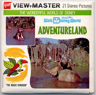 "Walt Disney World Adventureland GAF View-Master Packet A-949-A ""A"" edition"