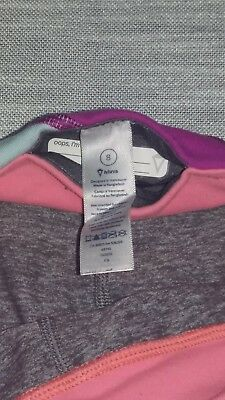 IVIVVA ATHLETICA Girls (8) Athletic Fitness Yoga Pants Crops