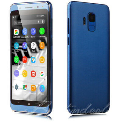 "New 3G GSM Unlocked 5.0"" Android 7.0 Cell Phones Quad Core Dual SIM Smartphone"