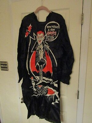 Vintage Ben Cooper Dracula Costume Halloween How About a Few Drops Friends