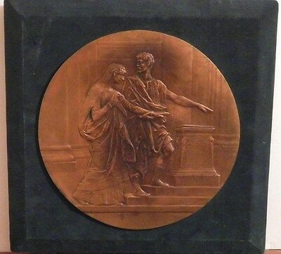 OLD ANTIQUE Listed Artist Fine Art BRONZE SCULPTURE 19th Century French Artwork
