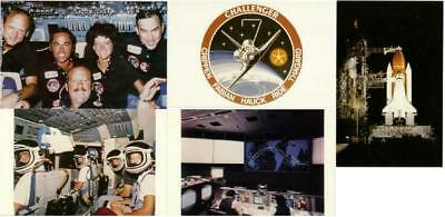 Space Shuttle Challenger STS-7 Mission Lot of 5 Postcards