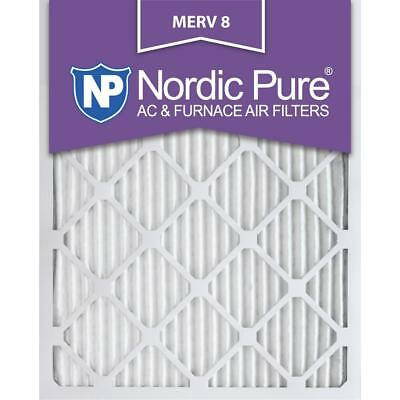 14 in. x 24 in. x 1 in. Dust Reduction Pleated MERV 8 - FPR 6 Air Filters
