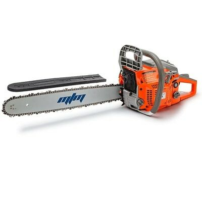 """58cc Petrol Commercial Chainsaw 20"""" Bar E-Start Tree Pruning Chain Saw"""