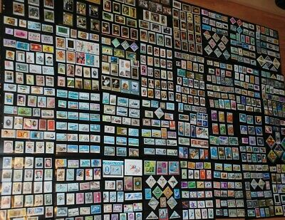 * Huge Stamps Collection 794 x MNH, 2s/s Space - Art -Transport -People -Nature