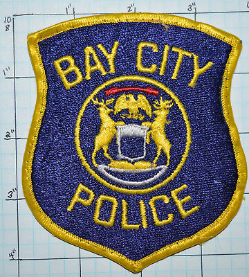 Michigan, Bay City Police Dept Patch