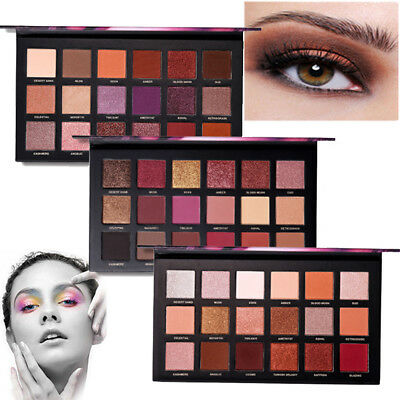 Professional 18 Colors Eye Shadow Shimmer Makeup Perfect Eyeshadow Palette Set