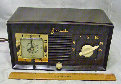 Vintage Jewel Alarm Clock Radio Model 940
