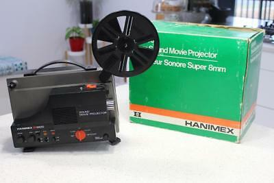 Hanimex  SR 8600 8mm Sound Movie Projector ~ Great Condition