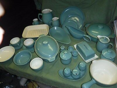 Denby /Langley Tableware Manor Green Individual Items